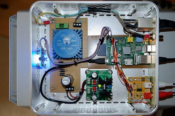 Raspberry Pi audio player dac