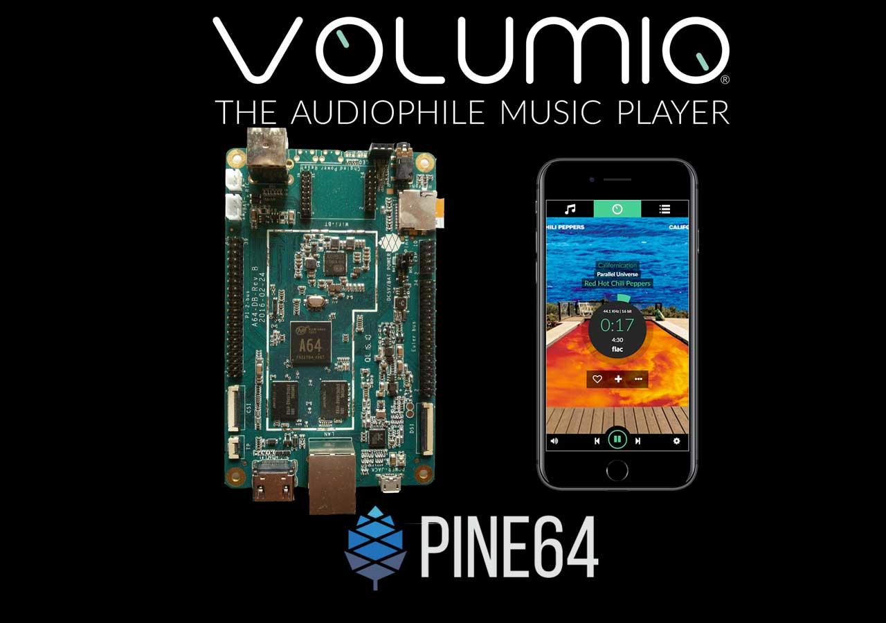 Volumio for Pine64 released · Volumio