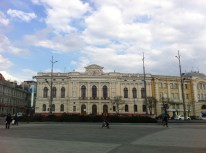 Kharkiv city center
