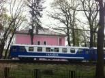 Antigua estación de tren en Gorky Park