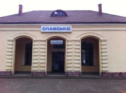 Estación tren Slavsko