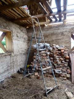 Interior de la construcción.