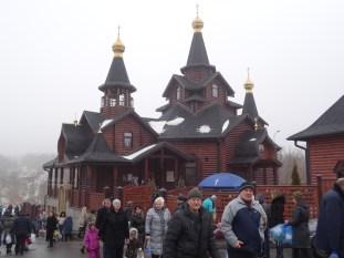 la iglesia junto al jardín Botánico de Kharkov