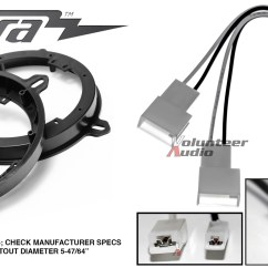 Metra Wiring Harness Toyota Dodge Ram Front Suspension Diagram 82 8148 6 Quot 75 Speaker Adapter Install Parts