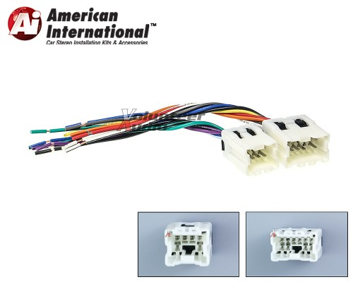 small resolution of details about car stereo cd player wiring harness adapter cable aftermarket radio install plug