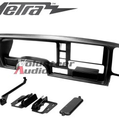 details about metra dp 3003 double din radio stereo dash install kit for 95 02 gm [ 1000 x 800 Pixel ]