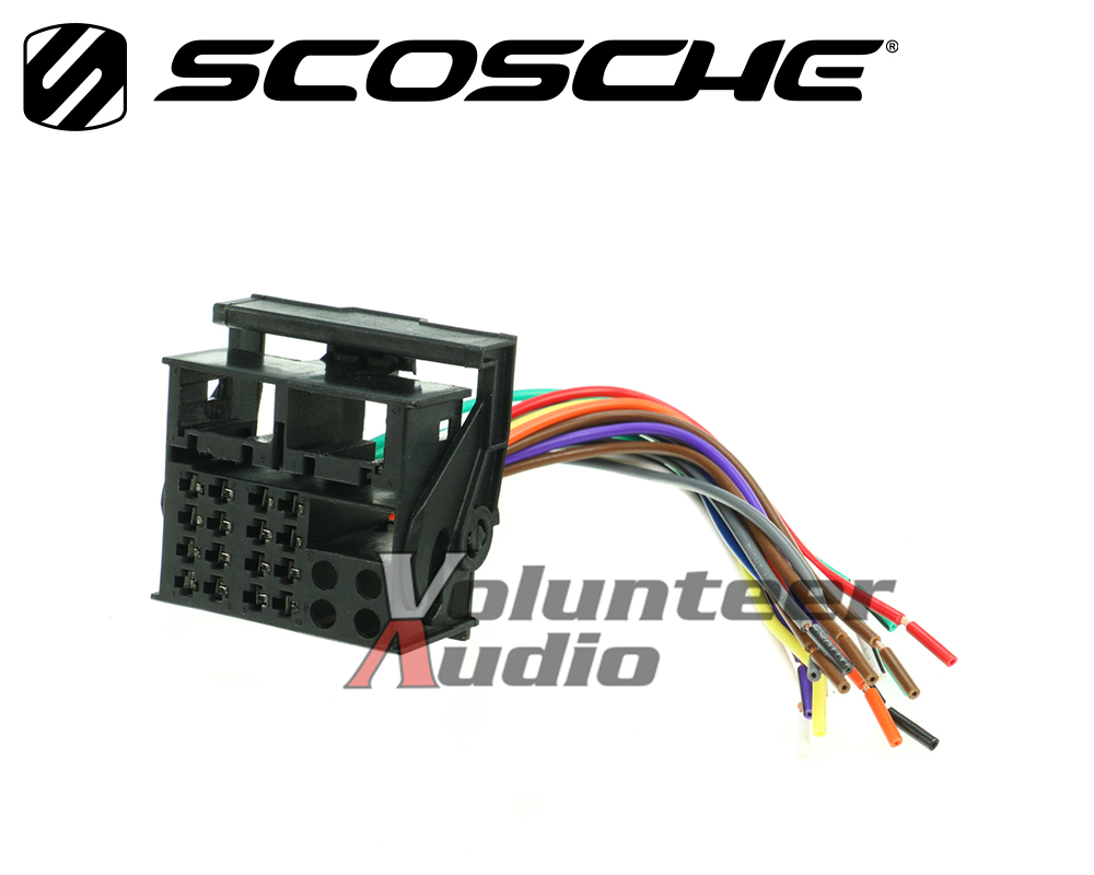 hight resolution of details about volkswagen plugs into factory radio car stereo cd player wiring harness install