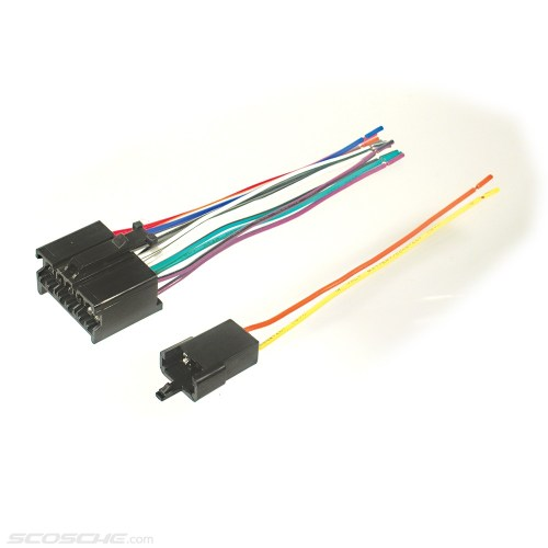 small resolution of links plugs into early gm factory radio car stereo wiring harness