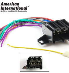 details about early gm car stereo cd player wiring harness wire aftermarket radio install plug [ 1000 x 800 Pixel ]