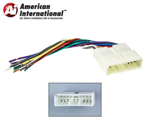 small resolution of details about honda acura car stereo cd player wiring harness wire aftermarket radio install