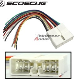 geo car stereo cd player wiring harness wire aftermarket radio [ 1200 x 1200 Pixel ]