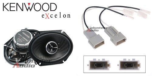 small resolution of details about kenwood kfc x683c 6x8 speakers with wiring harness fits ford 1 pair 60watt rms
