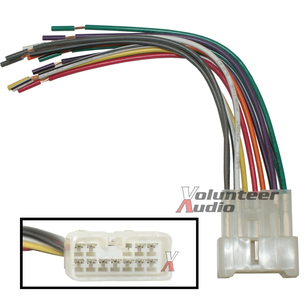 medium resolution of details about suzuki car stereo cd player wiring harness wire aftermarket radio install plug