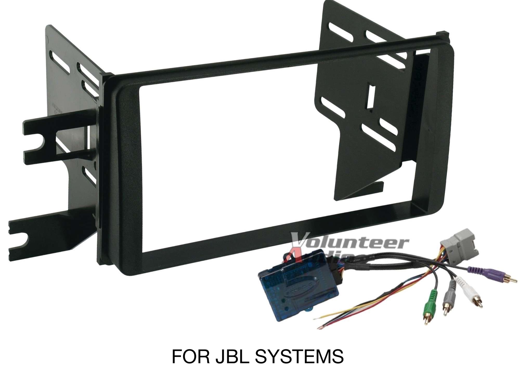 hight resolution of details about toyota fj cruiser double din car stereo radio install dash trim kit jbl harness