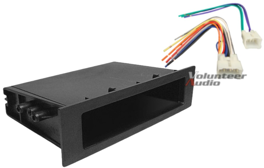medium resolution of details about complete car stereo radio install pocket trim dash kit wiring harness for toyota
