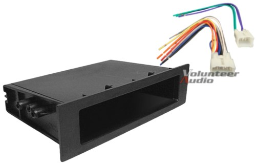 small resolution of details about complete car stereo radio install pocket trim dash kit wiring harness for toyota