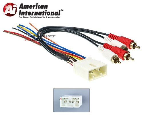 small resolution of details about toyota car stereo cd player wiring harness wire aftermarket radio install