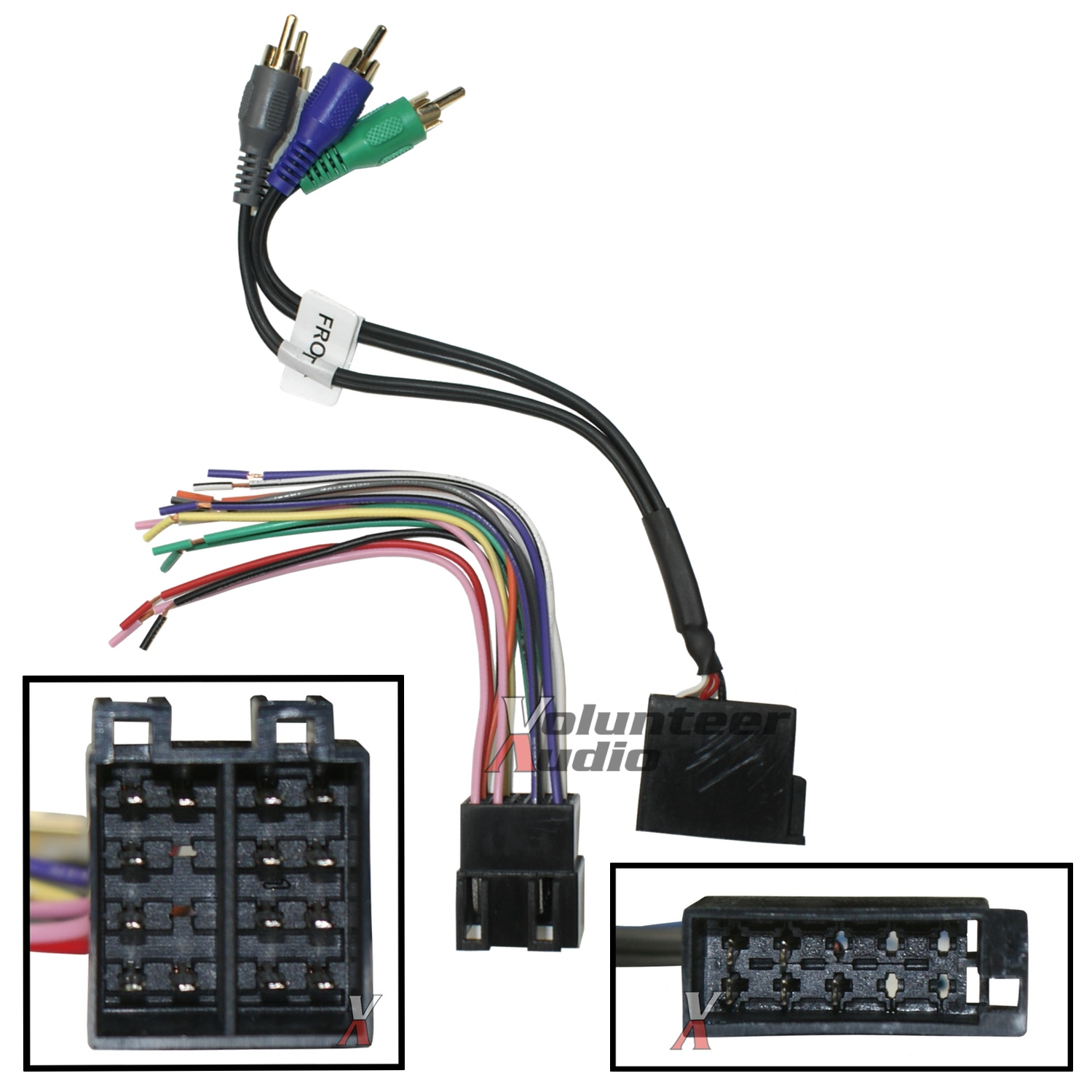 hight resolution of details about car stereo cd player wiring harness wire aftermarket radio install