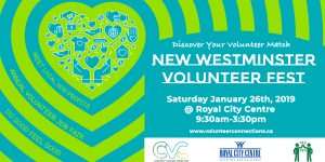 New West Festival of Volunteers Table Registration @ Royal City Centre | New Westminster | British Columbia | Canada