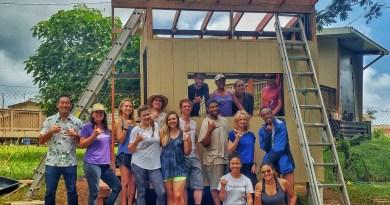 Open enrollment group service trip shed building
