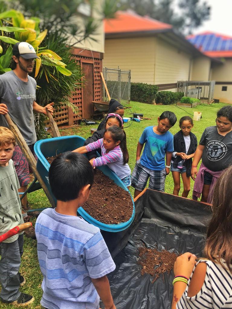 Andrew Foy Internship at Malama Kauai