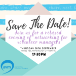 Relaxed networking for volunteer managers – Manchester