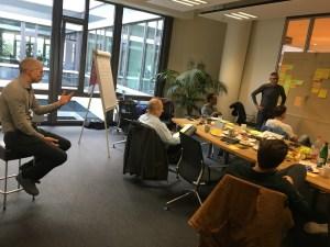 Fundraising Workshop with Volunteers' Help Friends at mediaman in Mainz