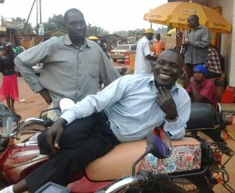 Bodaboda rider