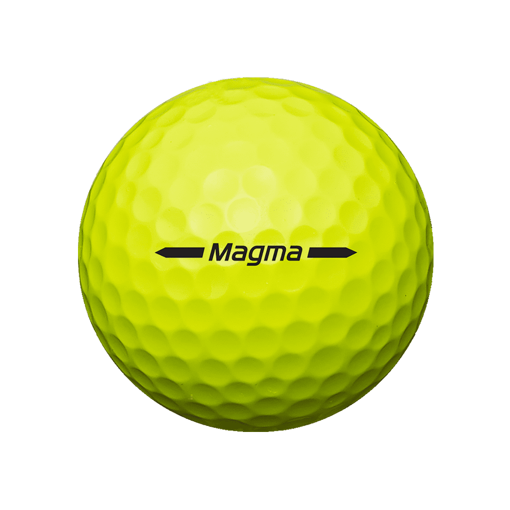 volvik magma yellow golf ball