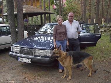 Edward i Gabriela Heliosz Volvo