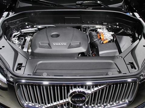 Układy silnikowe Volvo