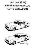 Volvo 1800 Dokumentation