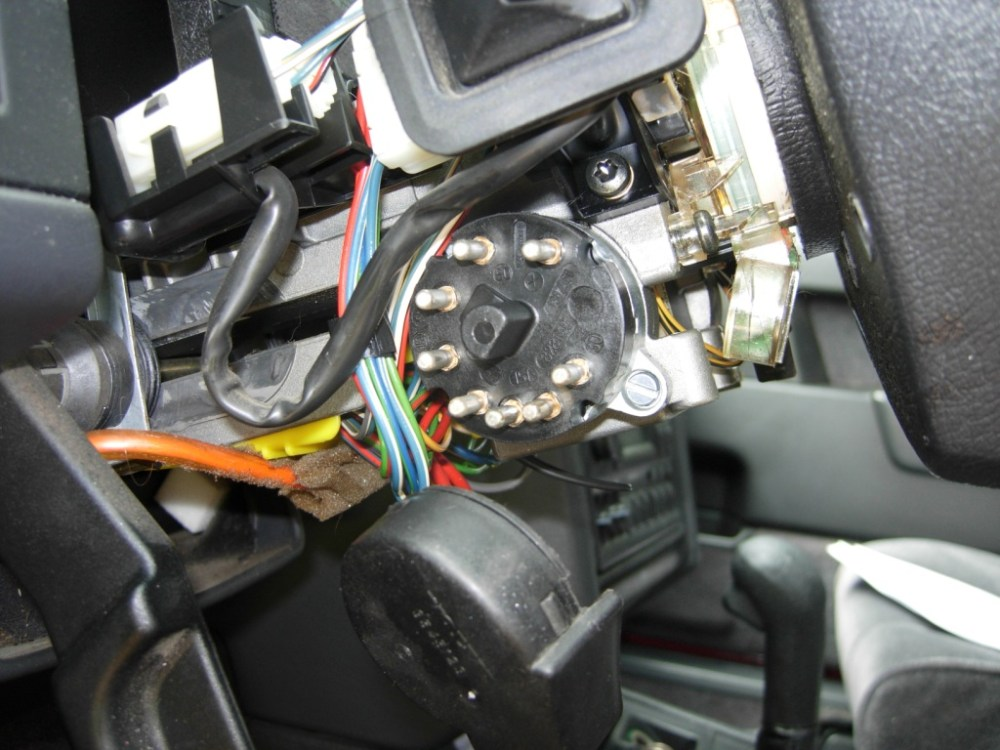 medium resolution of unscrew the switch from the steering column and remove it installing