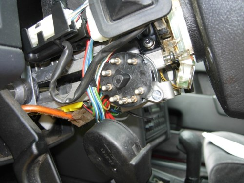 small resolution of unscrew the switch from the steering column and remove it installing