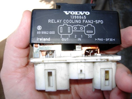 small resolution of the fan still would not work until the relay was tapped hard i tried wiggling individual wires to see if one of them had a problem with no results