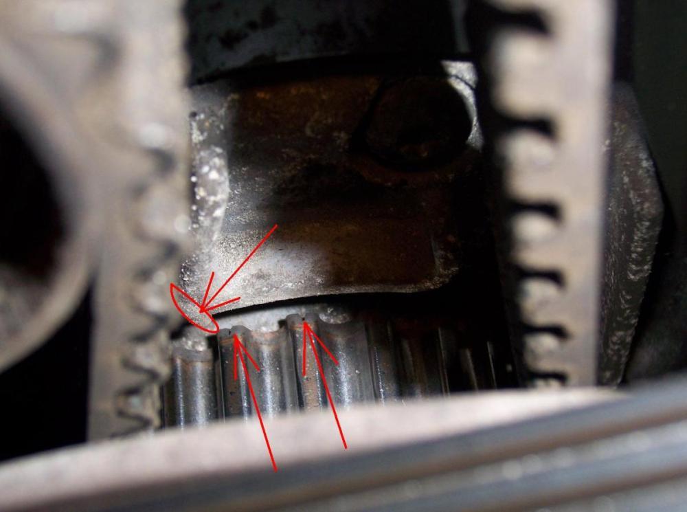 medium resolution of v70 2 5t timing belt tools needed marks jpg