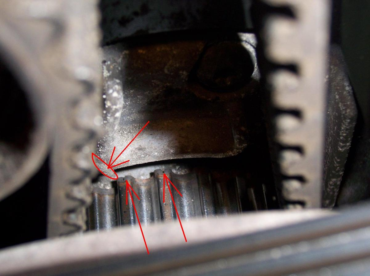 hight resolution of v70 2 5t timing belt tools needed marks jpg