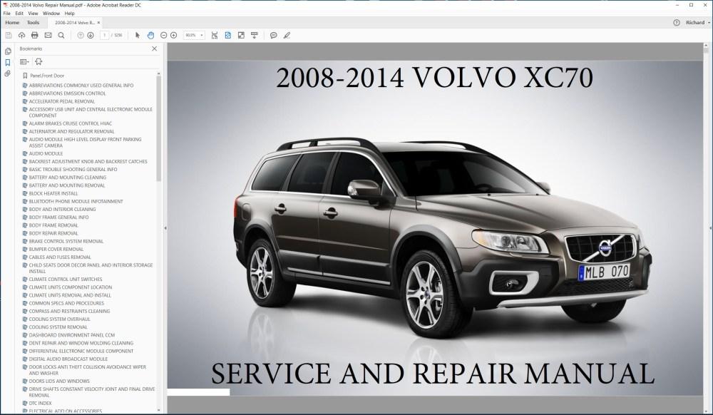 medium resolution of volvo repair diagrams wiring diagrams scematic rh 47 jessicadonath de volvo service manual xc70 volvo service