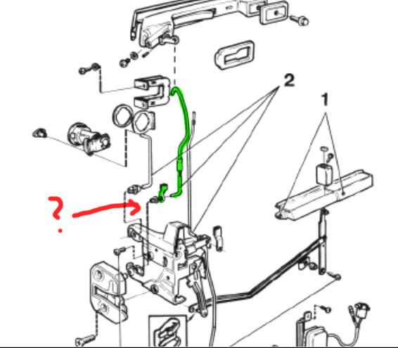 Service manual [Removing Door Lock Cylinder 2012 Volvo C70