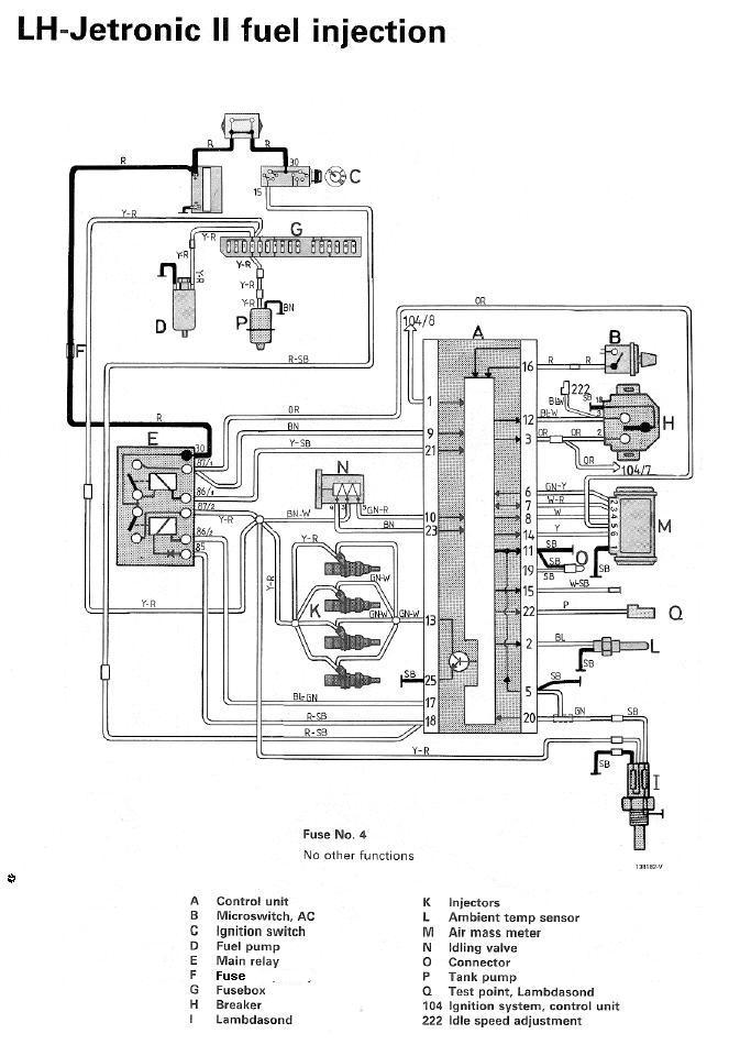 1991 240 volvo fuel pump wiring diagram  wiring diagram