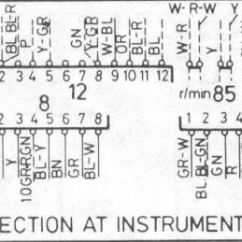 Volvo 940 Engine Diagram Three Phase Converter Wiring 740 Gle 1986 Instrument Cluster Connectors Forums 1984