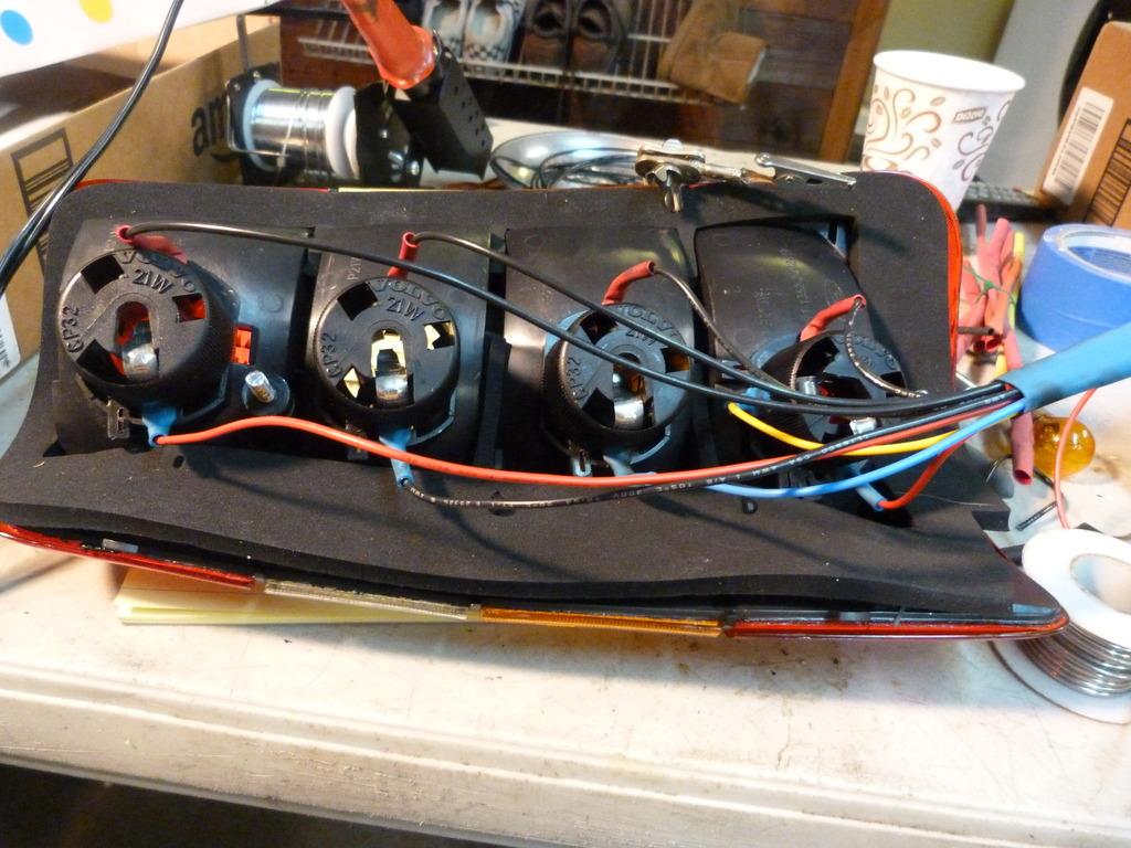 volvo 240 wiring diagram 1989 bosch internal regulator alternator 245 tail light problems and my cure forums