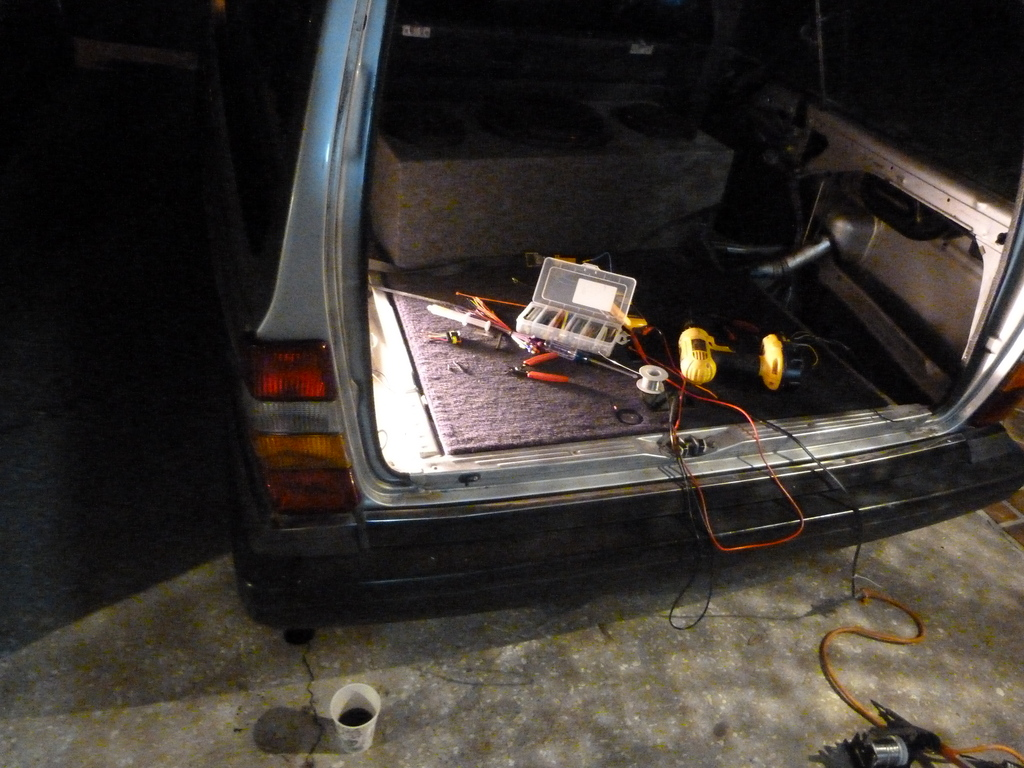 volvo 240 wiring diagram 1989 2007 gmc sierra radio 245 tail light problems and my cure forums