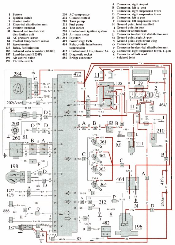 1989 volvo 240 ignition wiring diagram 1972 f250 wiring