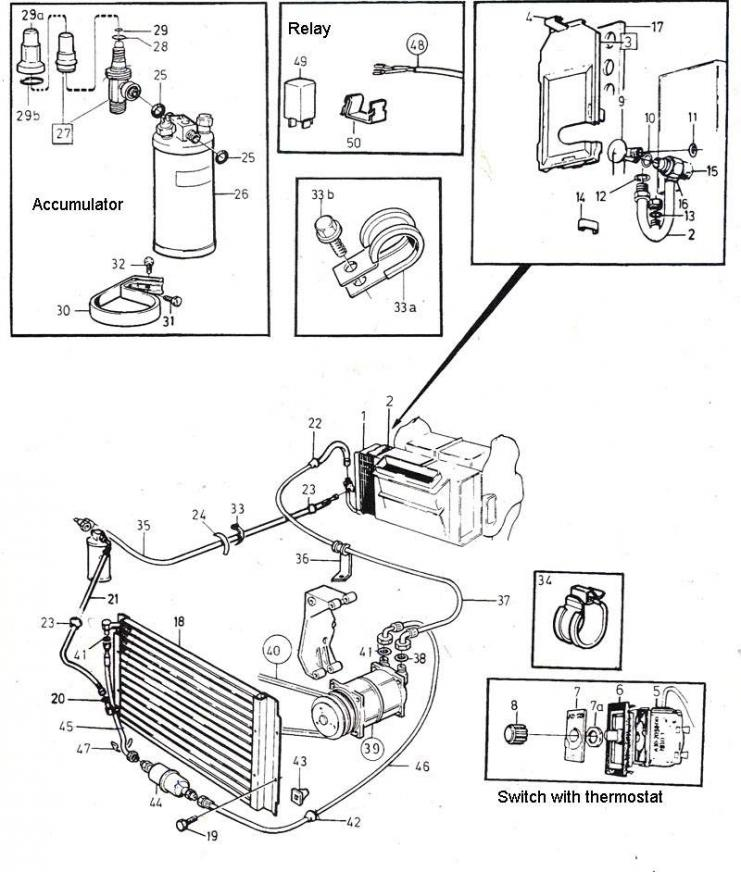 volvo 940 ac wiring diagram