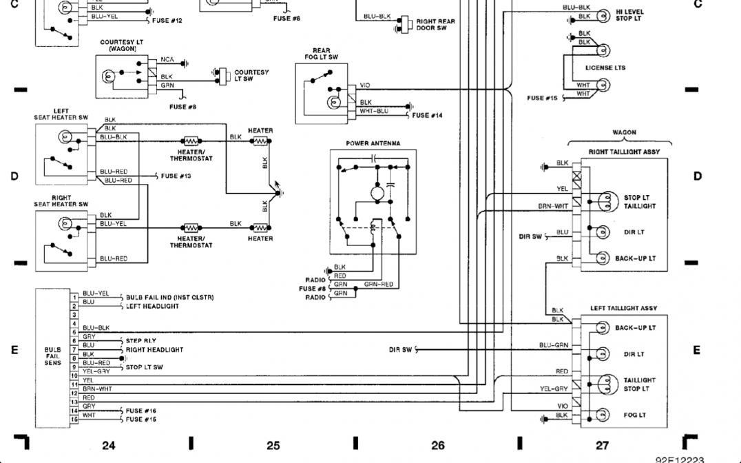 volvo 940 circuit diagram