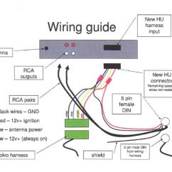 Wiring Diagram For Amp And Sub 99 Ford Explorer Xlt Radio Aftermarket To Factory Help Volvo
