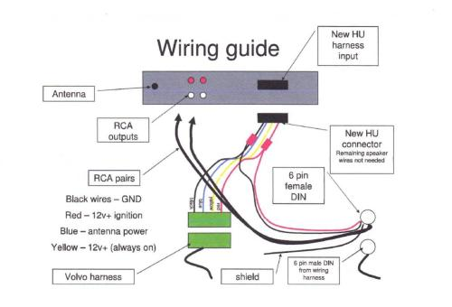 small resolution of aftermarket radio to factory amp wiring help wiring guide jpg