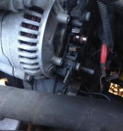 how to replace the voltage regulator w o removing the alternator photo 1  [ 1028 x 771 Pixel ]