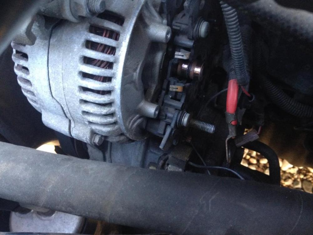 medium resolution of how to replace the voltage regulator w o removing the alternator photo 1